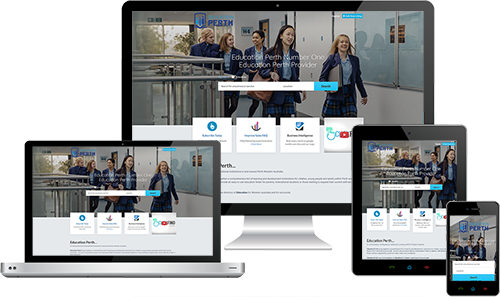 Education Perth displayed beautifully on multiple devices